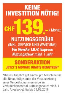 Luftpolster Maschine NewAir I.B. ® Express