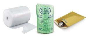 Polstermaterial und Versandtaschen